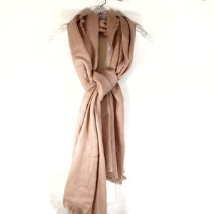 Look by M dusty rose scarf